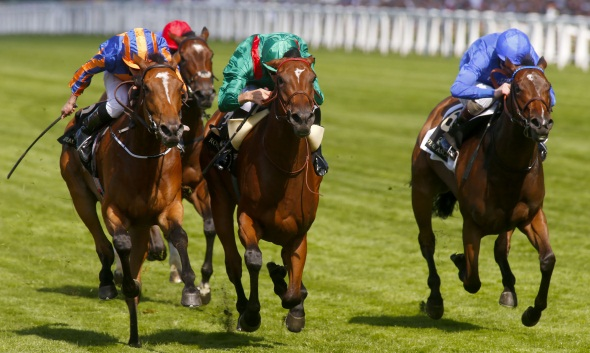 2pts win Lucida @3/1, 1pt win Amazing Maria @12/1, Falmouth Stakes